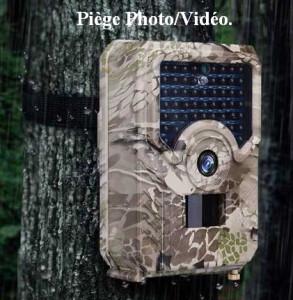 piège appareil photo